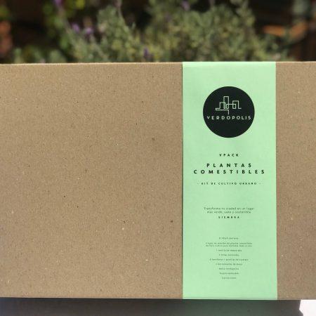 Kit de cultivo urbano
